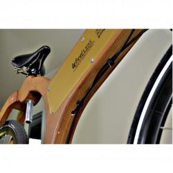 wood e-bike vano batteria