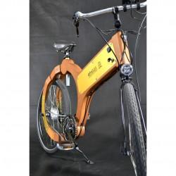 wood e-bike fronte