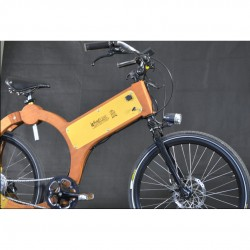 wood e-bike laterale