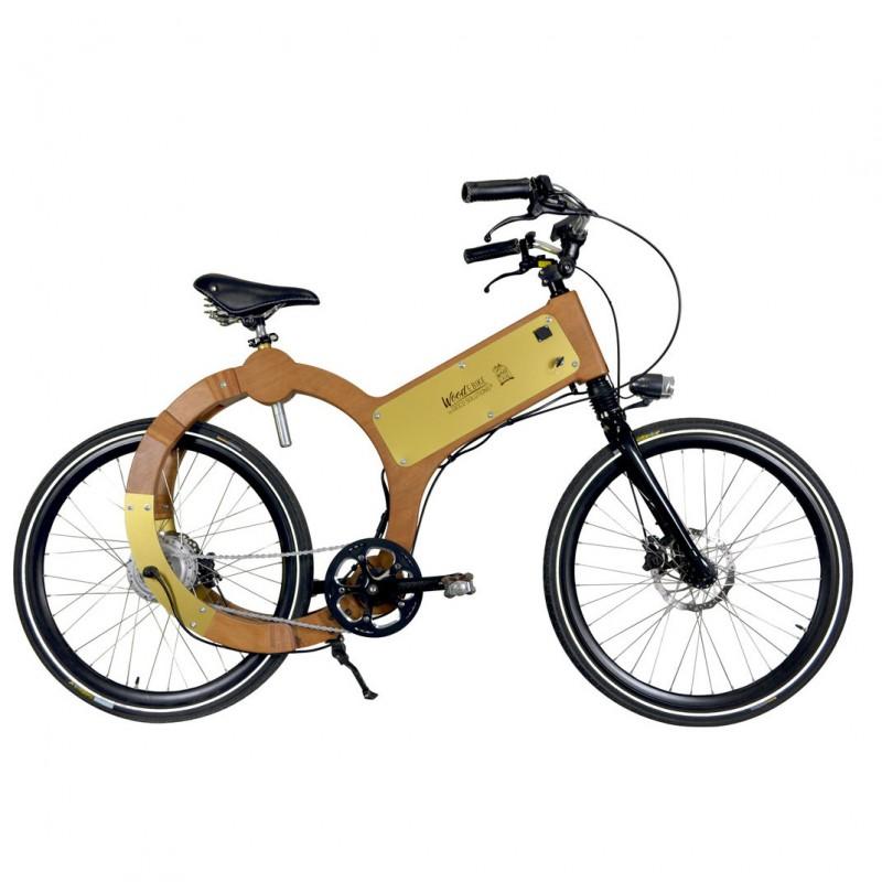 wood e-bike